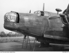 Profile pic wellington bomber iv  a1388 460 squadron
