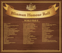 Thumb blinman honour roll