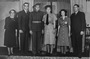 Thumb wedding day henry a l lovell and jean frances lord  june 3 1943