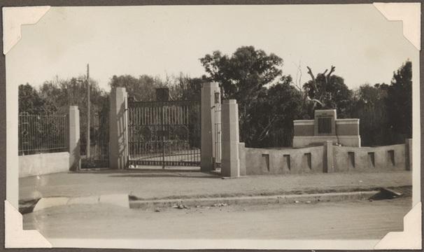 Normal wellington memorial gates