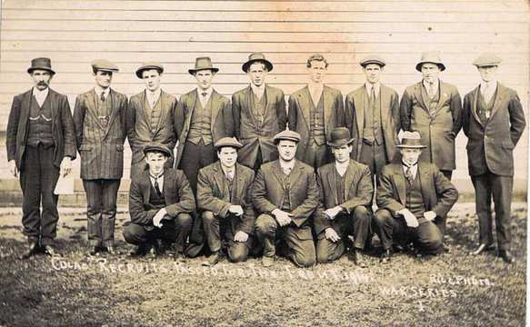 Normal colac recruits passed for the front   1914 46022673422 o