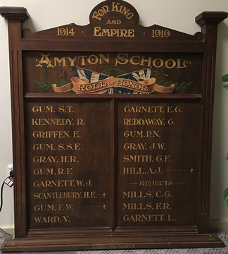 Normal amyton school honour roll 2