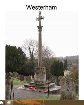 Profile pic westerham war memorial