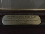 Thumb plaque on framed portrait of h. o. teague in function room of admin building  tovp