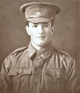 Profile pic normal anderson henry albert pte 3946   1916 pic in uniform