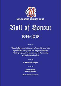 Normal mcc roll of honour