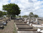 Thumb view from the eastern side of gladstone cemetery