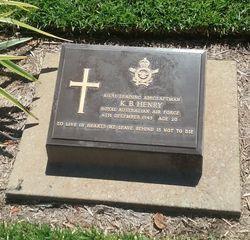 Profile pic henry  keith braybrook headstone