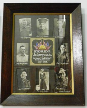 Normal cathcart   district honour roll wwii