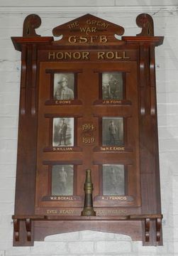 Normal golden square fire brigade honour roll 16409 99458