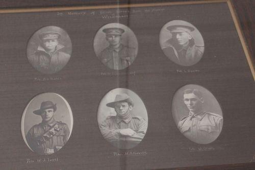 Normal wilkawatt world war one honour roll deceased 13866 98172