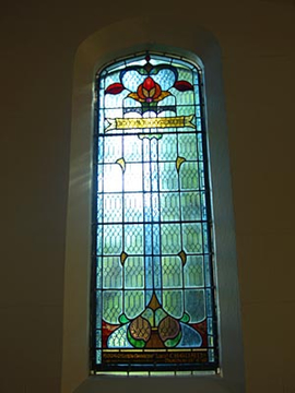 Normal lawson anglican church guan memorial window