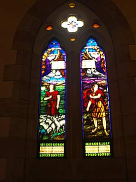 Normal haberfield st david s church memorial windows