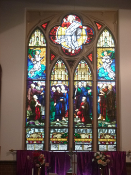 Normal lakemba st andrew s anglican church memorial windows 1