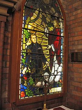 Normal strathfield st anne s anglican church bennett memorial window
