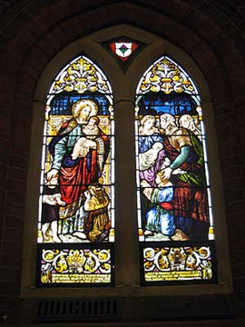 Normal mosman  st clement s anglican church semple memorial window
