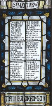 Normal granville st marks anglican church memorial windows 1