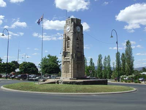 Normal quirindi   district memorial and clock tower