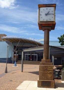 Normal j.h. edmondson vc memorial clock