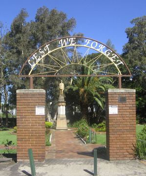 Normal thirroul memorial arch 1