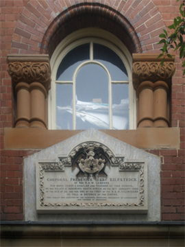 Normal leichhardt kilpatrick boer war memorial plaque