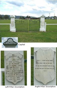 Normal clarence town eagleton boer war memorial gates