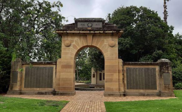 Normal wagga wagga victory memorial arch