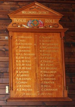 Normal wollombi    district honor roll