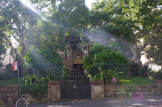 Normal darlinghurst st peters church memorial gates 1