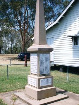 Normal woodhill war memorial 1