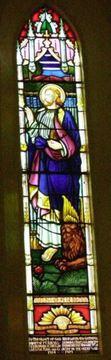 Normal robertson st john s anglican church memorial window