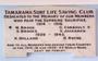 Thumb tamarama surf life saving clug honour roll