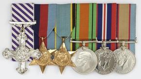Profile pic raaf ww2 dfc aes def medal