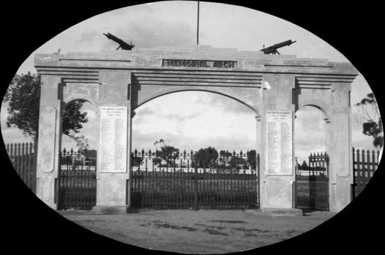 Normal port wakefield memorial arch