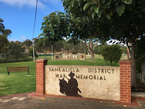 Normal yankalilla war memorial