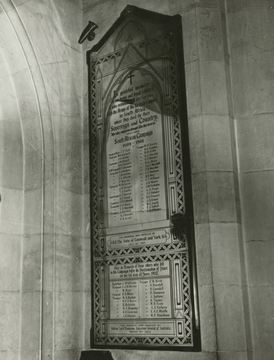 Normal north adelaide st peter s cathedral boer war honour roll