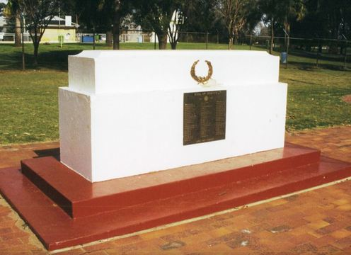 Normal kingaroy stone of remembrance 1