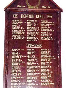 Normal beerwah   peachester rsl honour roll