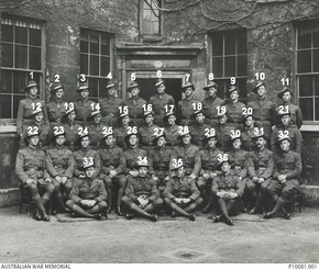 Profile pic no 6 officer cadets trinity college oxford no