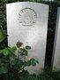 Thumb buttercase headstone