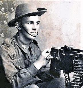 Profile pic richard william edward  will  chandler on machine gun