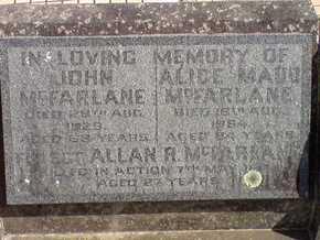 Profile pic mcfarlane402959   tripoli war cemetery