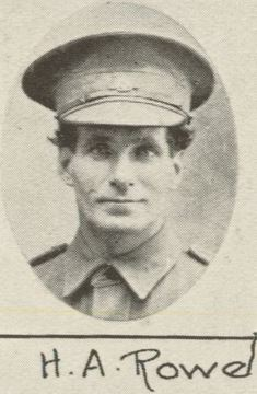 Profile pic h. a. rowe
