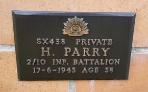 Profile pic parry sx438   1943