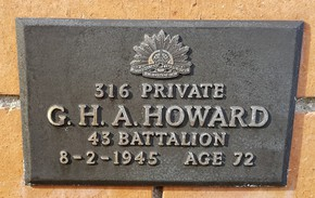 Profile pic howard 316   died 1945 age 72