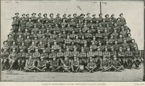 Normal 26th battalion 16th reinforcements