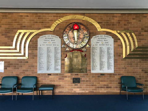 Normal casino and district memorial hospital ww1 roll of honour