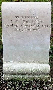 Profile pic normal baufoot  headstone st mary the virgin churchyard  harefield  london