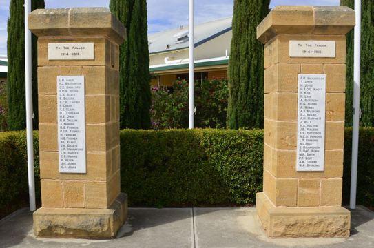 Normal murray bridge hospital memorial gates