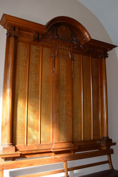 Normal ararat victoria original shire hall   wwi honour board 19141919 19626000866 o